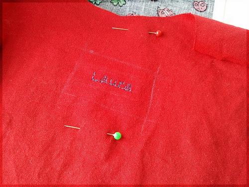Fancy stitching